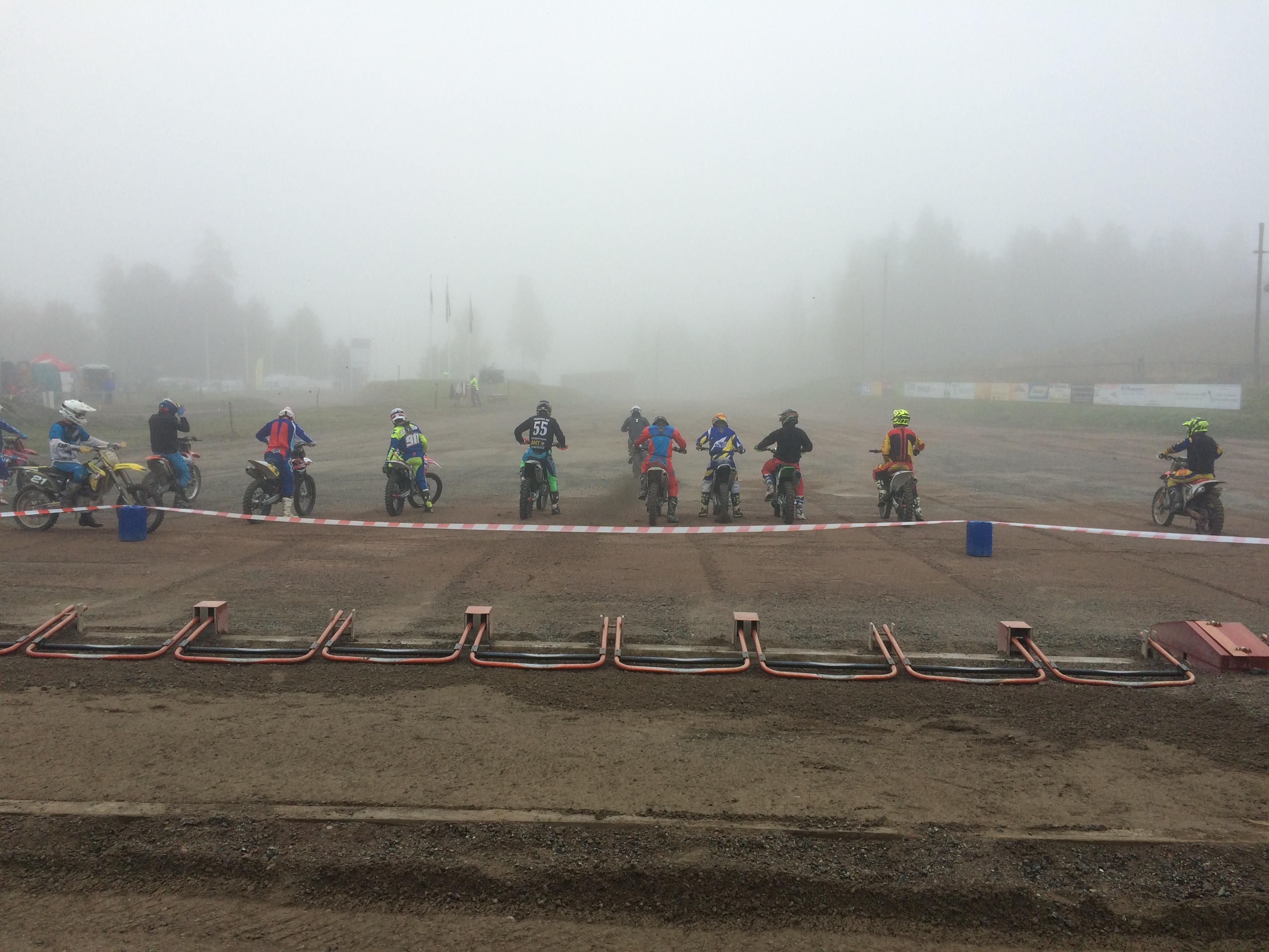 Dimmig morgon i Vrigstad, kvalet på G